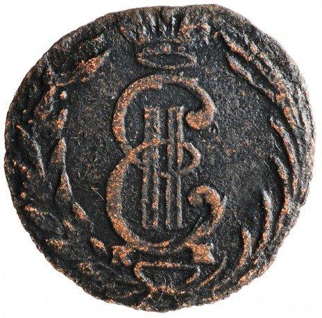 купить Полушка 1769 КМ сибирская монета, Биткин 1212(R)
