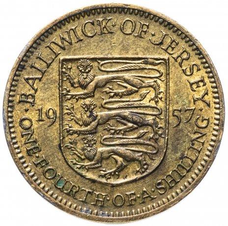 купить Джерси 1/4 шиллинга (shilling) 1957