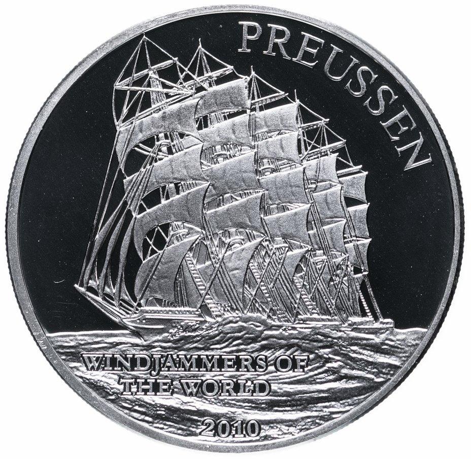 """купить Самоа 10 долларов 2010 """"корабль Preussen"""""""