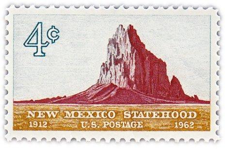 """купить США 4 цента 1962 """"50 лет штату Нью-Мехико"""""""