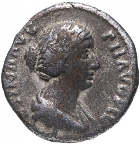 купить Римская империя, Фаустина Младшая, супруга Марка Аврелия, денарий.