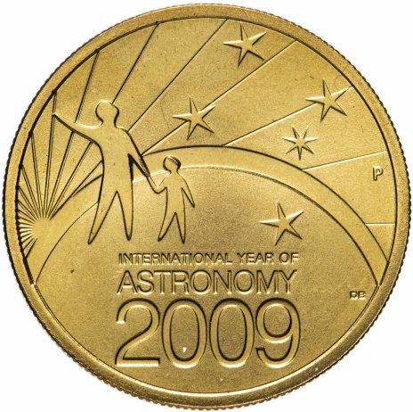"""купить Австралия 1 доллар (dollar) 2009 """"Международный год астрономии"""""""