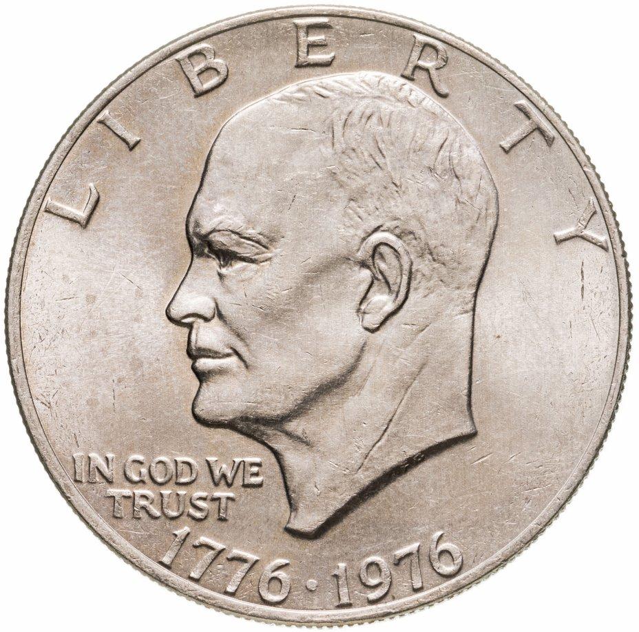 """купить США 1 доллар (dollar)  1976  """"200 лет независимости США"""""""