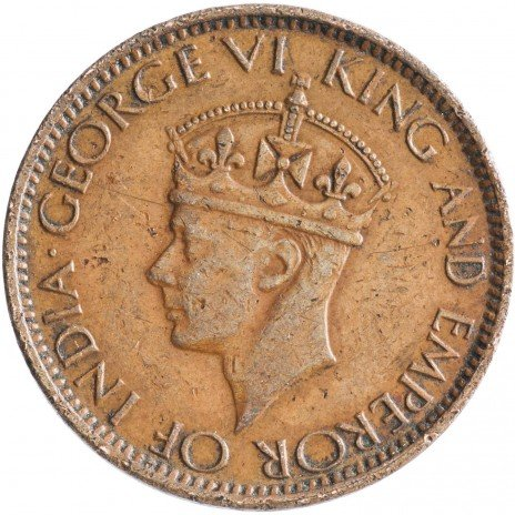 купить Цейлон 1 цент 1945