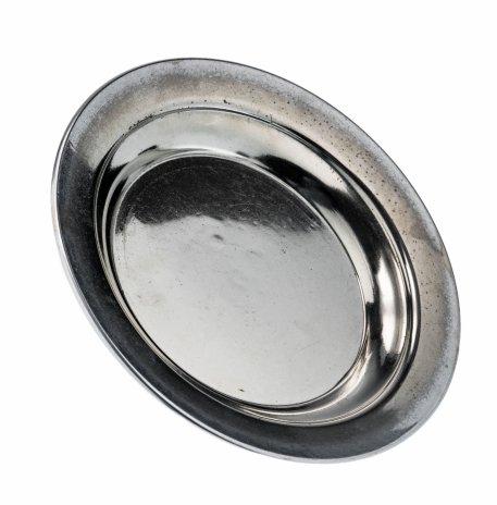 купить Блюдце лаконичного дизайна, никель с серебрением, Великобритания, 1940-1970 гг.