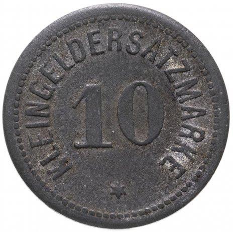 купить Германия, Дармштадт 10 пфеннигов 1917