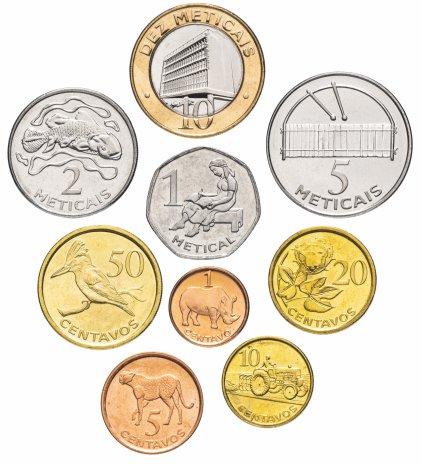 купить Мозамбик набор монет 2006 года  (9 штук)