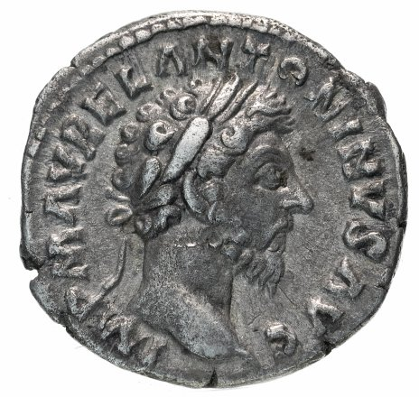 купить Римская империя, Марк Аврелий, 161-180 годы, Денарий. Провиденция (персонификация Предвидения)