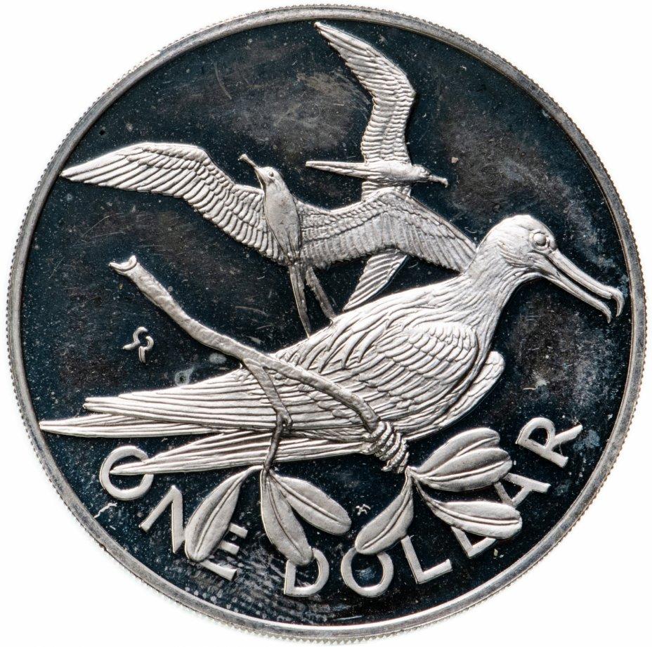 купить Британские Виргинские острова 1 доллар (dollar) 1973-1975, случайный год