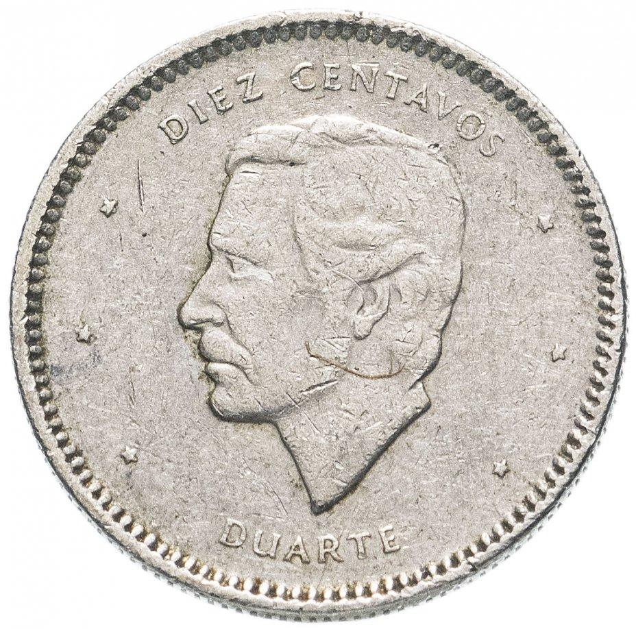 купить Доминикана 10 сентаво (centavos) 1983-1987, случайная дата