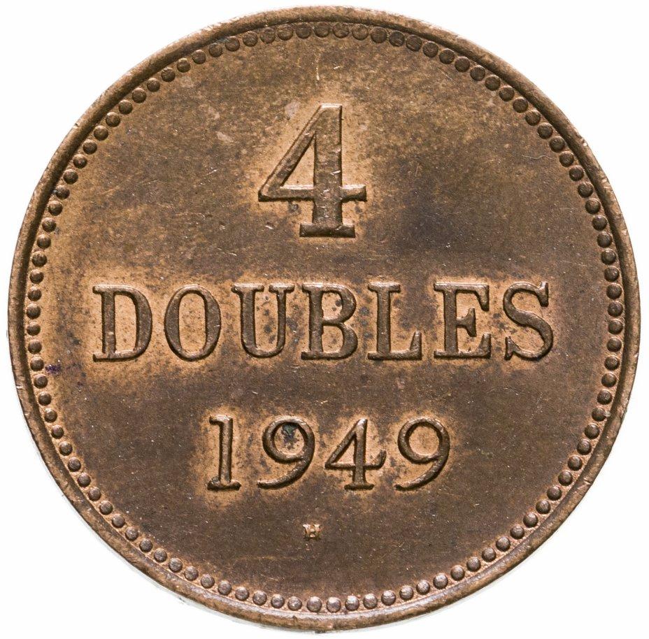 купить Гернси 4 дубля (doubles) 1949