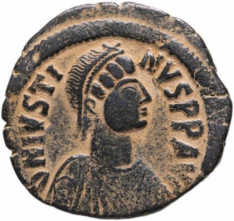 купить Византийская империя, Юстин I, 518-527 годы, 40 нуммиев (фоллис).