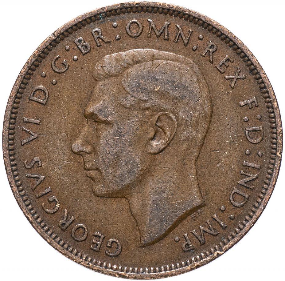 купить Великобритания 1 пенни 1937-1948, случайная дата
