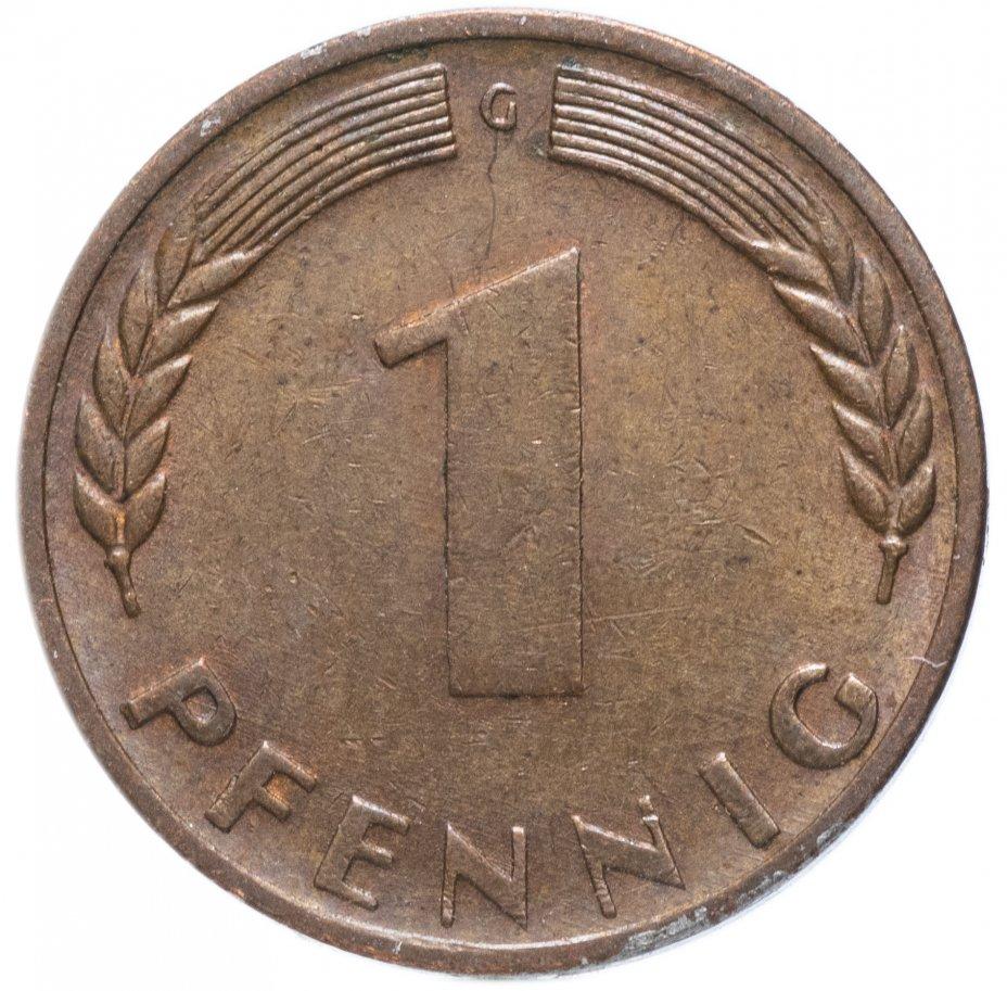 купить Германия 1 пфенниг  1950 г.