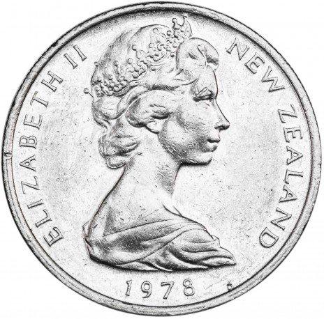 купить Новая Зеландия 5 пенсов 1978