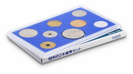 купить Япония Годовой набор монет 1985 (7 монет + жетон)