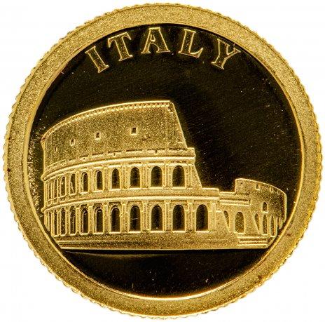 """купить Либерия 12 долларов 2008 """"Европейские страны - Италия"""""""