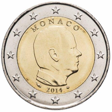 купить Монако 2 евро 2014