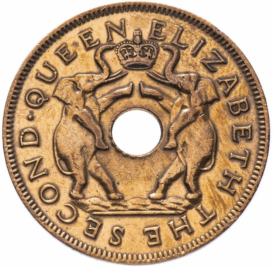 купить Родезия и Ньясаленд 1 пенни 1957
