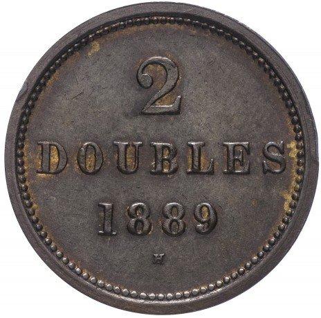 купить Гернси 2 дубля 1889