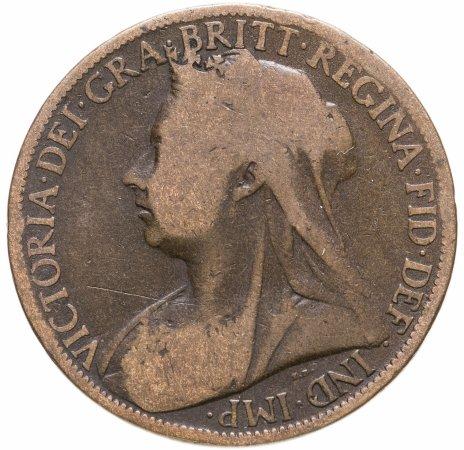 купить Великобритания 1 пенни (penny) 1901