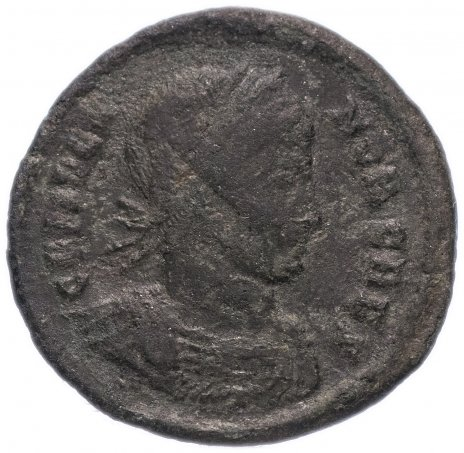 купить Римская Империя Крисп 317–326 гг фоллис (реверс: легенда обрамляет лавровый венок)