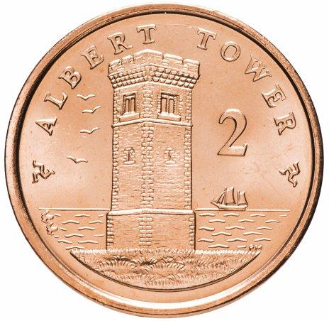 купить Остров Мэн 2 пенни (penny) 2014