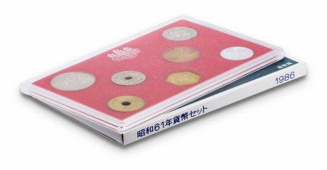купить Япония Годовой набор монет 1986 (6 монет + жетон)