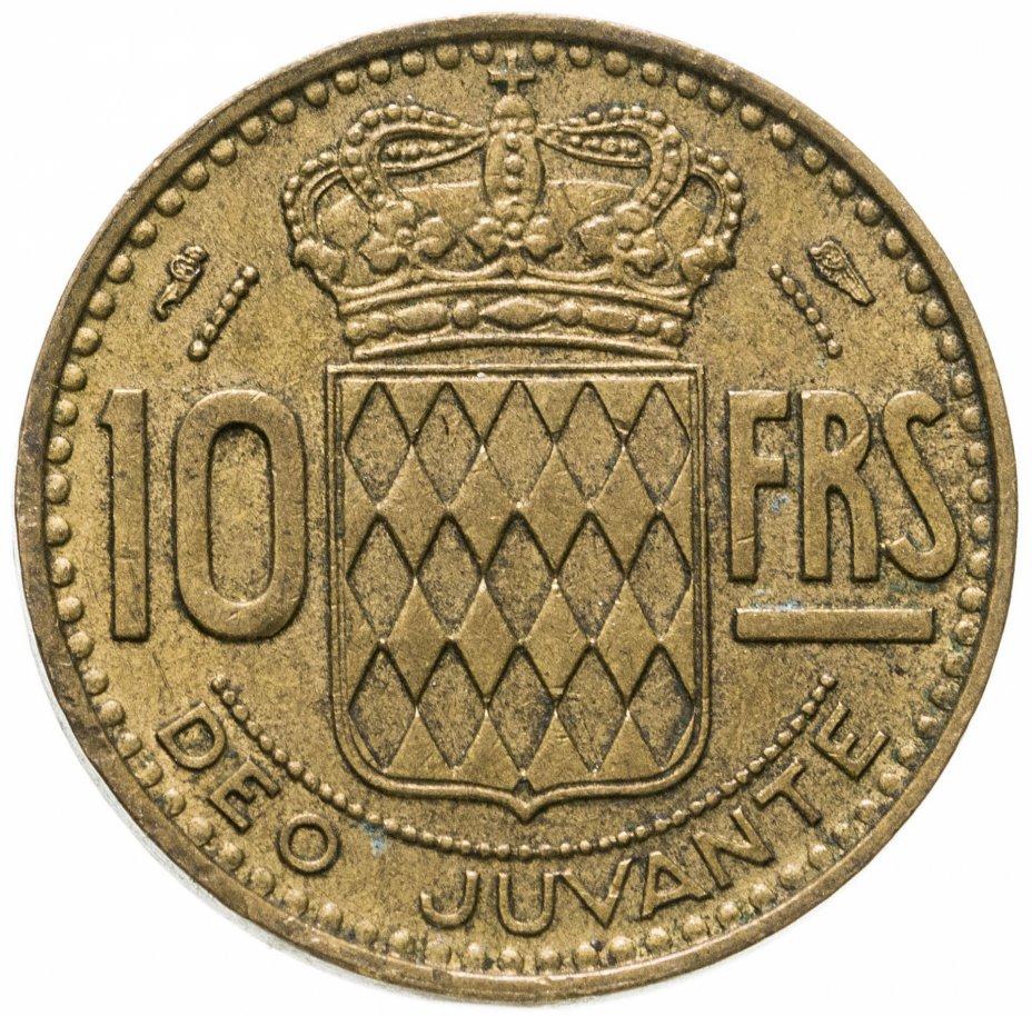 купить Монако 10 франков (francs) 1951