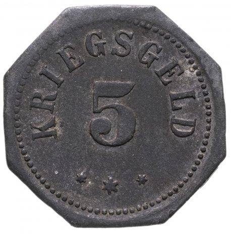 купить Германия, Бад-Камберг 5 пфенниг 1917