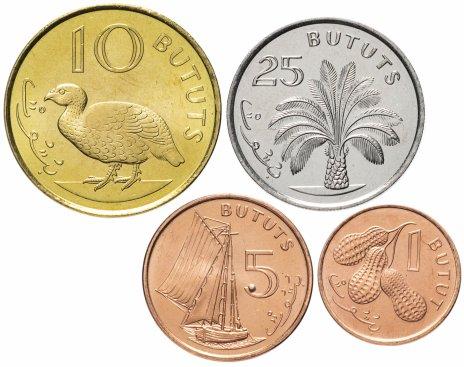 купить Гамбия набор монет 1998 (4 шт.)
