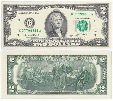 "купить США 2 доллара 2013 (Pick 538)  G-Чикаго ""FW"" (Fort Worth)"