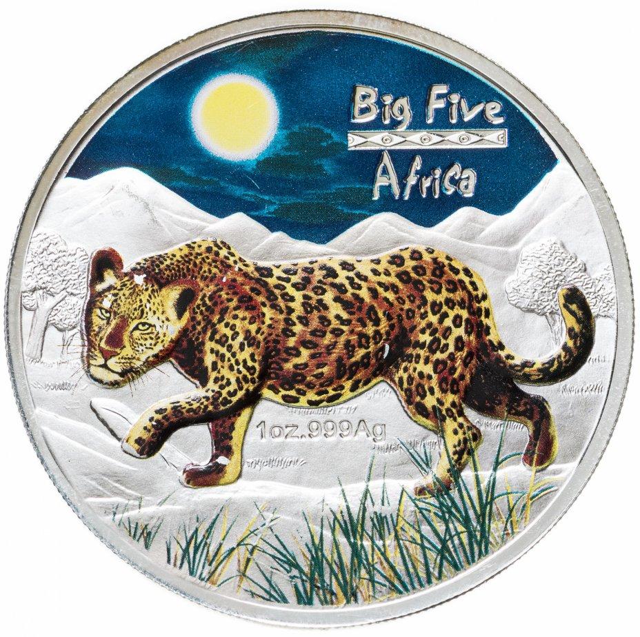 """купить Конго 240 франков 2008 """"Большая пятёрка Африки - Леопард"""""""