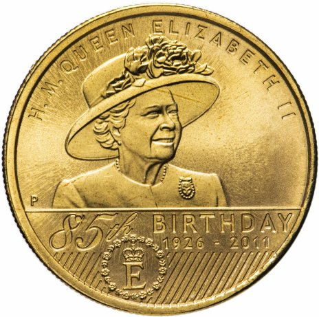 """купить Австралия 1 доллар 2011 """"85 лет королеве Елизавете II"""""""