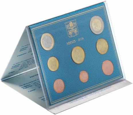 купить Ватикан годовой набор из 8 монет 2019 в буклете