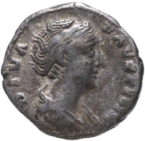 купить Римская империя, Фаустина Старшая, жена Антонина Пия, денарий.
