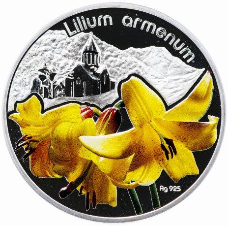 купить Ниуэ 1 доллар 2012 «Лилия желтая»