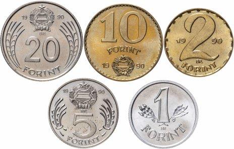 купить Венгрия набор монет 1990