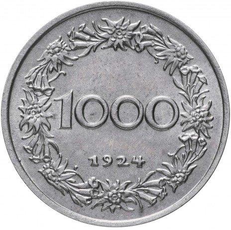 купить Австрия 1000 крон 1924