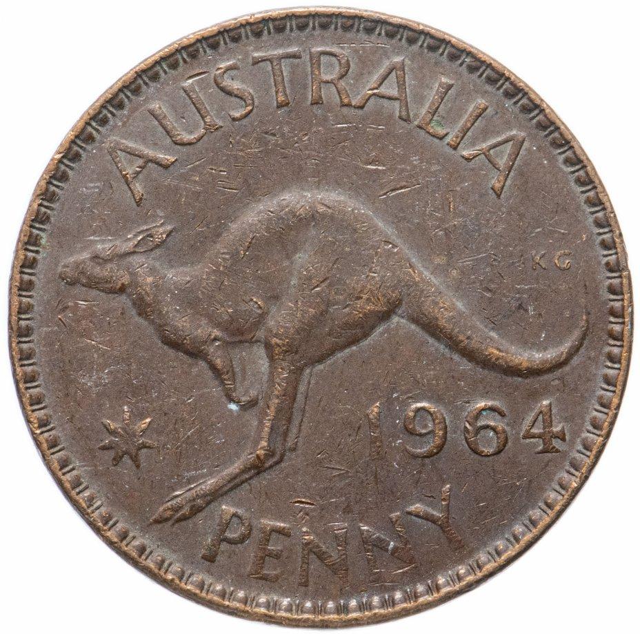купить Австралия 1 пенни (penny) 1964
