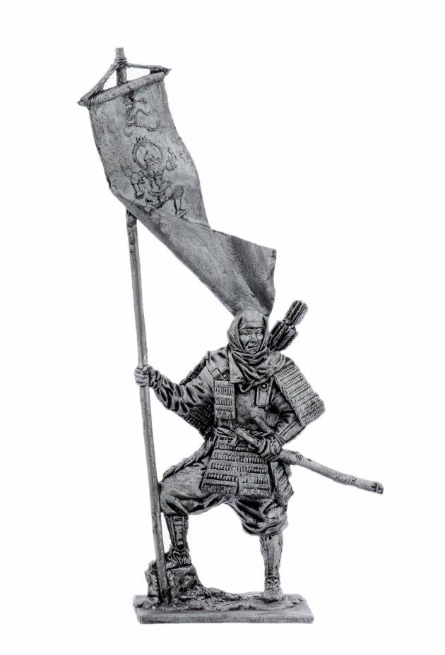 купить Оловянный солдатик, Японский воин-монах, 12 век, Россия, 2021