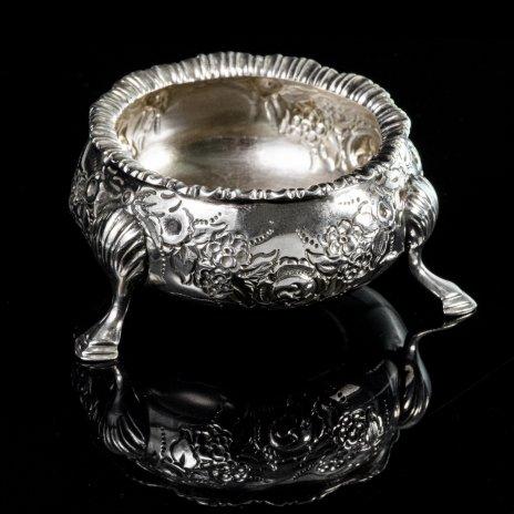купить Солонка серебряная, Великобритания