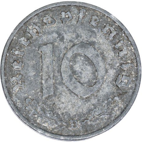 купить Третий Рейх 10 рейхспфеннигов 1941