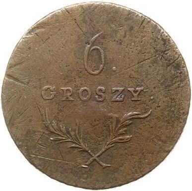 купить 6 грошей 1813 года без легенды