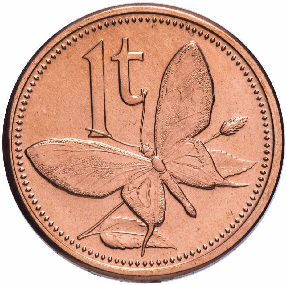 купить Папуа Новая Гвинея 1 тойя 2004
