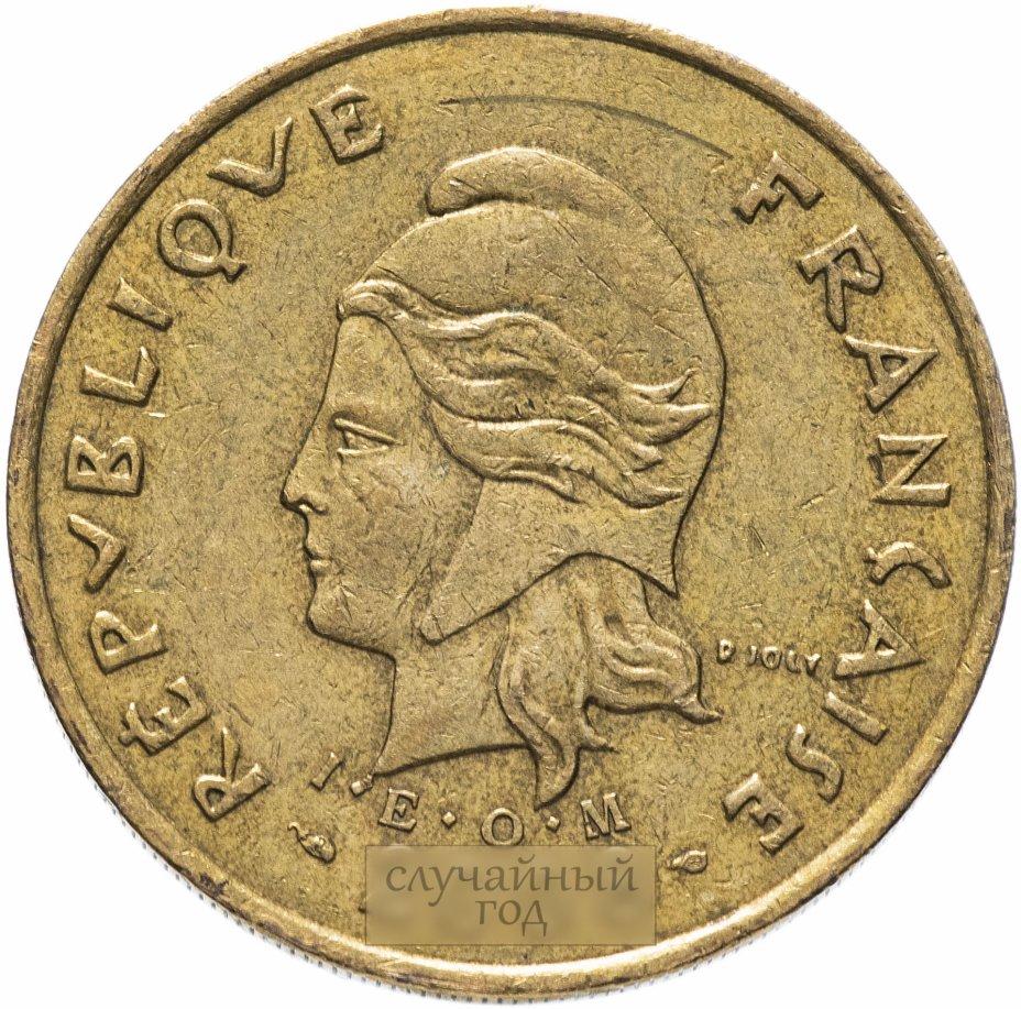 купить Новая Каледония 100 франков (francs) 2006-2017, случайная дата