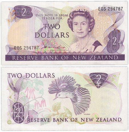 купить Новая Зеландия 2 доллара  1981-85 (Pick 170a)