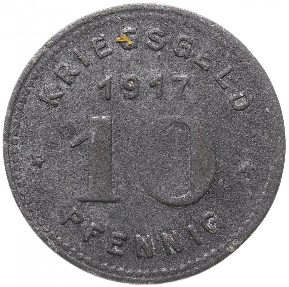 купить Германия (Виттен) нотгельд  10 пфеннигов 1917