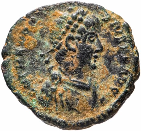 купить Римская империя, Феодосий I, 379-395 годы, центенионалий.