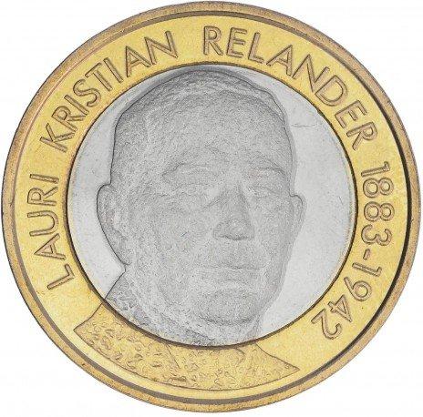 купить Финляндия 5 евро 2016  Лаури Кристиан Реландер
